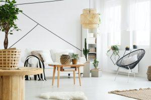 Modern interior of room